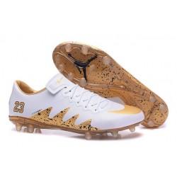 New - Nike Men's Hypervenom Phinish II FG Soccer Boots - Jordan White Gold