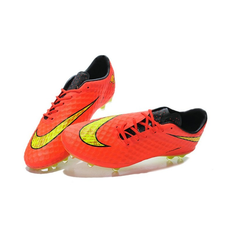 Nike Hypervenom Phantom FG Soccer Cleats - Men s Shoes FIFA World Cup  Brazil Crimson Volt Hyper Punch Mtlc 3ae4ea92f