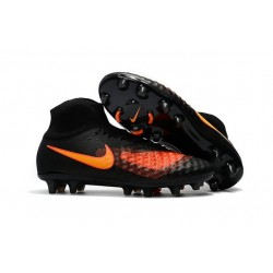 New Nike Magista Obra II FG Soccer Cleats For Men Noir Orange