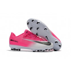 New Football Boots - Nike Mercurial Vapor 11 FG Pink White Black