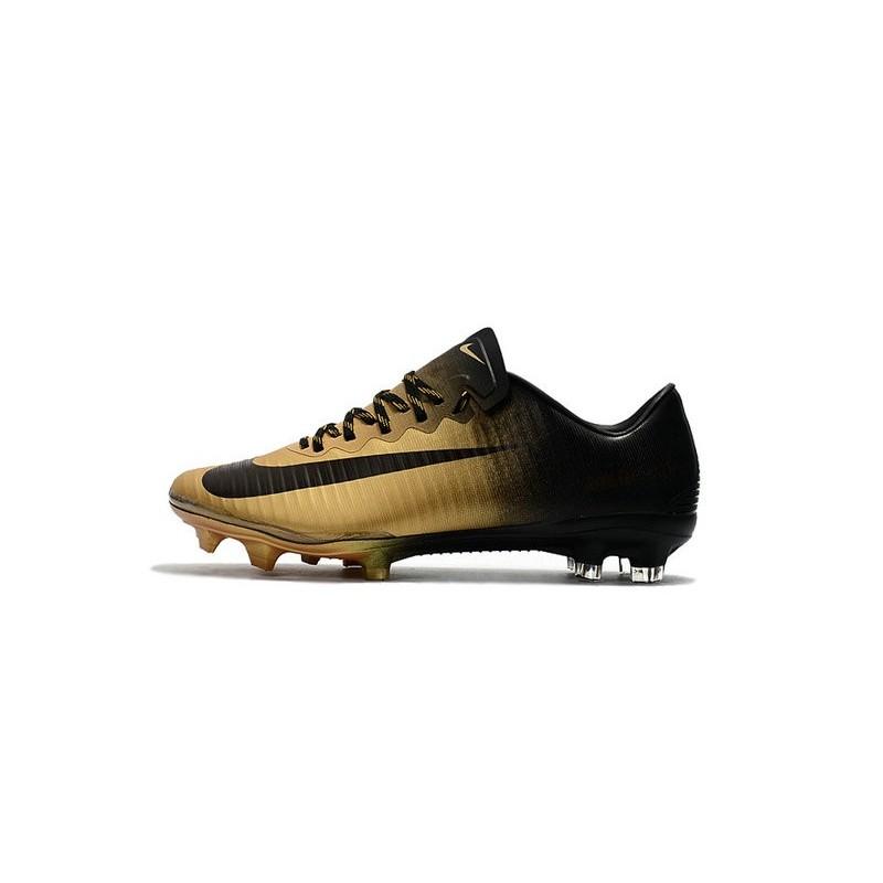 2274ae6199b25 New Football Boots - Nike Mercurial Vapor 11 FG Black Gold Maximize.  Previous. Next