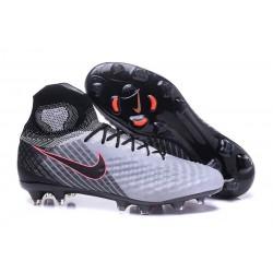 New Nike Magista Obra II FG Soccer Cleats For Men Grey Black