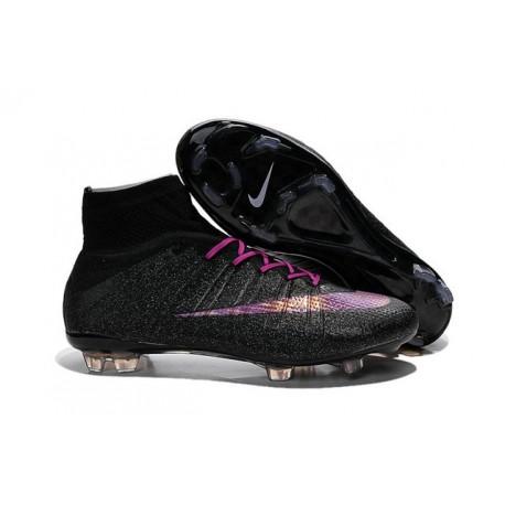 2016 Nike Mercurial Superfly IV FG Soccer Cleats Black Violet