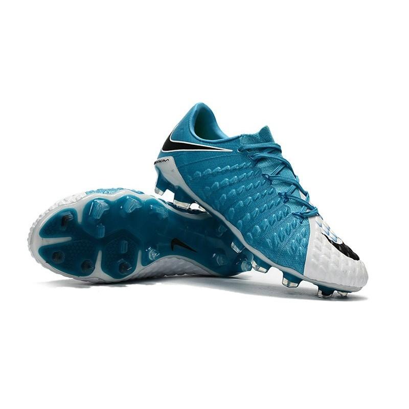 best authentic c0ba1 16915 Nike Hypervenom Phantom 3 FG Low-cut Men Boot Blue White Black