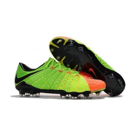 Nike Hypervenom Phantom 3 FG Low-cut Men Boot Citrus Green Orange