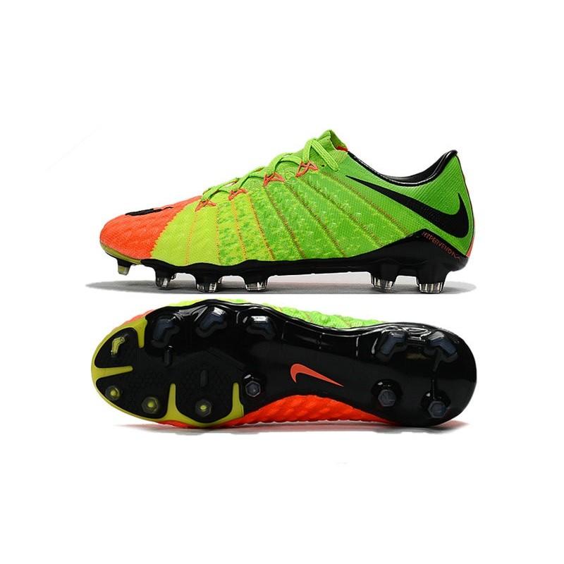 innovative design 03088 11884 Nike Hypervenom Phantom 3 FG Low-cut Men Boot Citrus Green ...