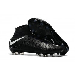 Nike Mens Hypervenom Phantom 3 Dynamic Fit FG Soccer Cleat Black White