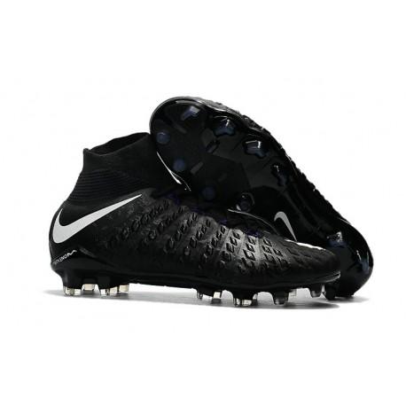 Nike Mens Hypervenom Phantom 3 Dynamic Fit FG Soccer Cleat Black White