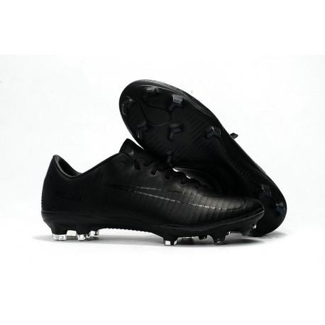 Shoes For Men - Nike Mercurial Vapor 11 FG Soccer Football All Black