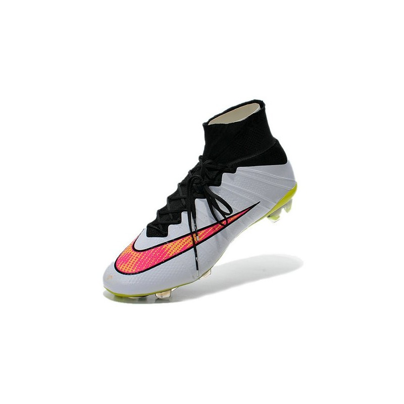 various colors 09d39 3e9a4 2016 Nike Mercurial Superfly IV FG Soccer Cleats White Volt ...