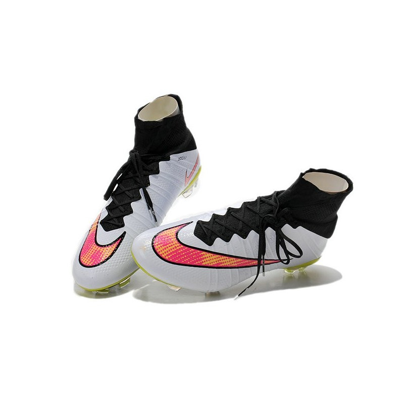 2016 nike mercurial superfly iv fg soccer cleats white volt hyper pink black. Black Bedroom Furniture Sets. Home Design Ideas