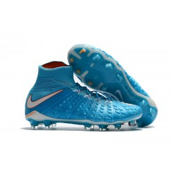 Nike Mens Hypervenom Phantom 3 Dynamic Fit FG Soccer Cleat in Blue