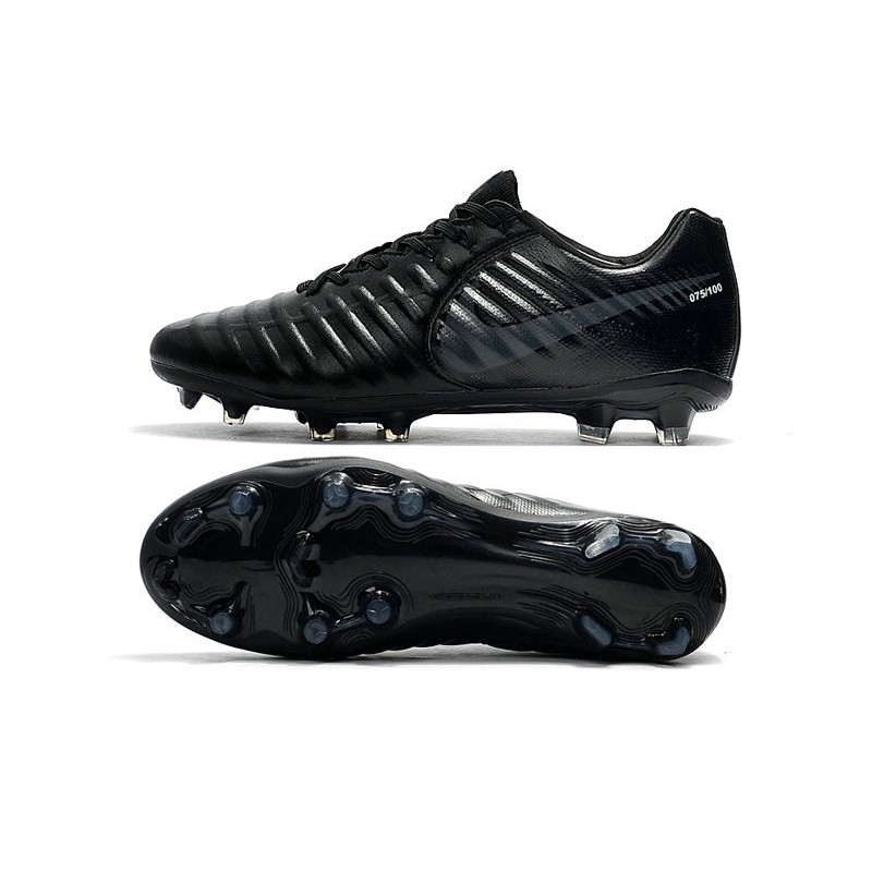 nike tiempo legend 7 fg leather firm ground boots all black. Black Bedroom Furniture Sets. Home Design Ideas