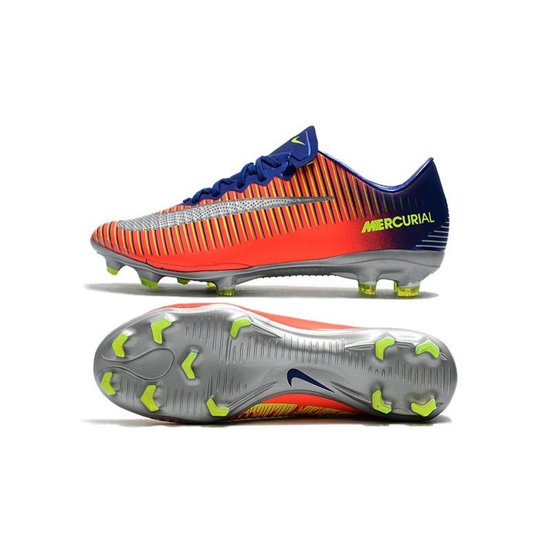 newest collection cbe11 00fc7 Nike Mercurial Vapor XI FG ACC 2017 Soccer Shoes - Deep Royal Blue Chrome  Total Crimson Maximize. Previous. Next