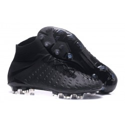 Nike Mens Hypervenom Phantom 3 Dynamic Fit FG Soccer Cleats All Black