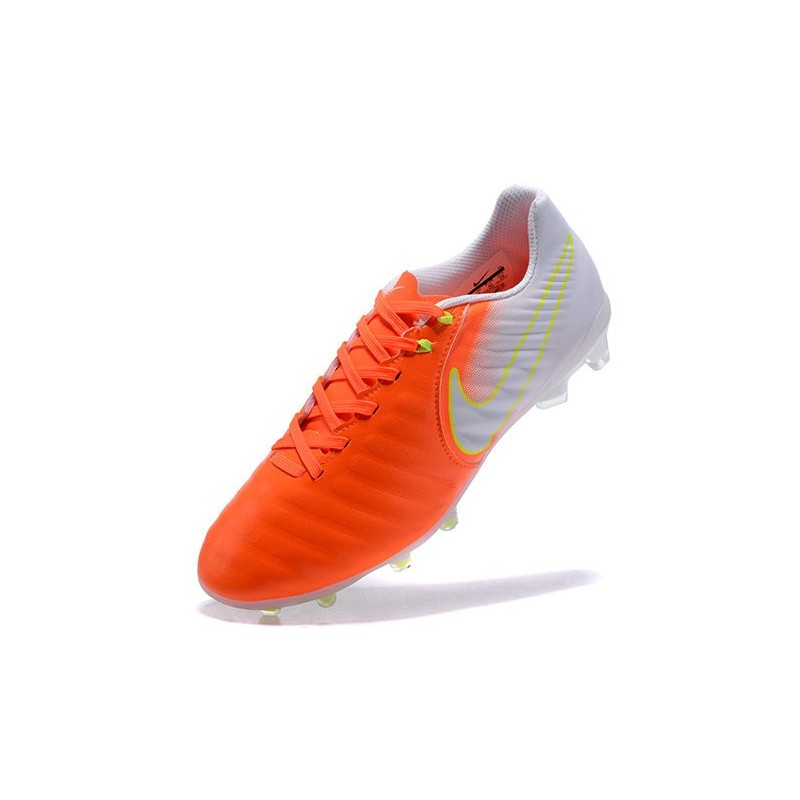 nike tiempo legend 7 fg leather firm ground boots orange white. Black Bedroom Furniture Sets. Home Design Ideas
