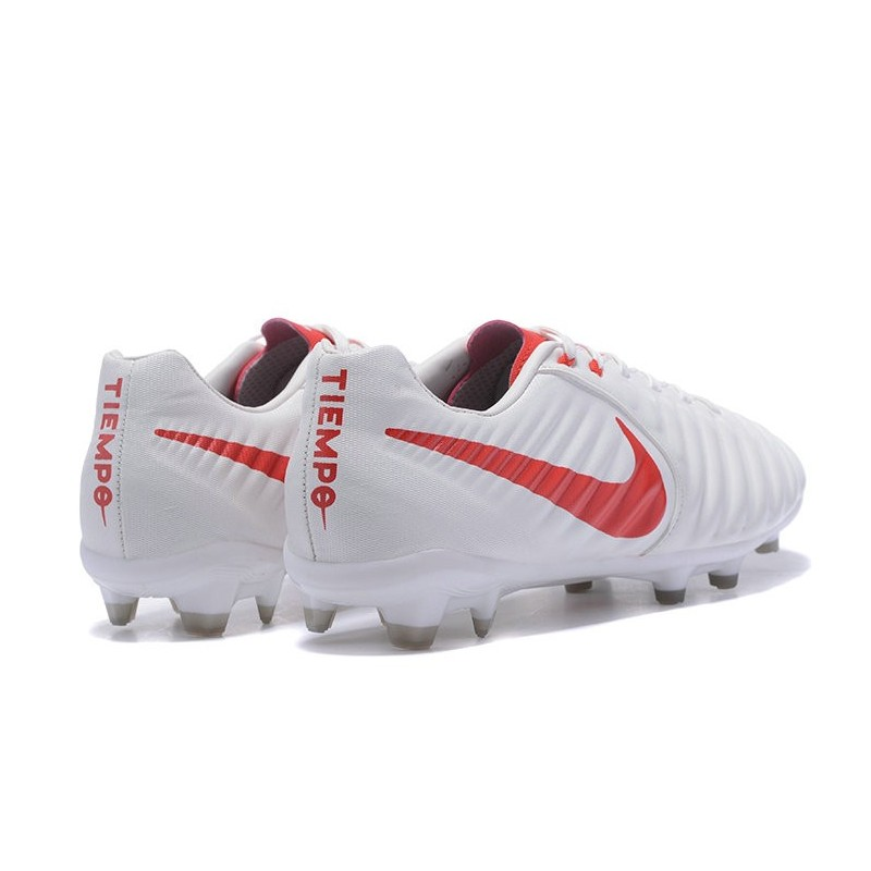 9b1014e76 Nike Tiempo Legend 7 FG Leather Firm Ground Boots White Red Maximize.  Previous. Next