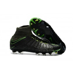 Nike Mens Hypervenom Phantom 3 Dynamic Fit FG Soccer Cleat Black Volt