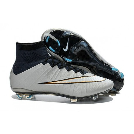 Nike Mercurial Superfly IV FG Soccer Cleats - Latest Shoes Metallic Silver White Hyper Turq Black