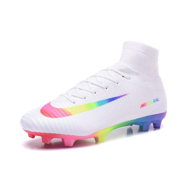 Nike Mercurial Superfly V FG 2017 New Football Boots White ...