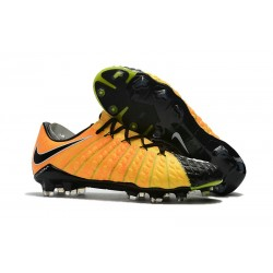 2017 Nike Hypervenom Phantom III FG Soccer Shoes Yellow Black