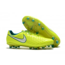 New Nike Magista Opus II FG Football Boots - Low Price - Volt White