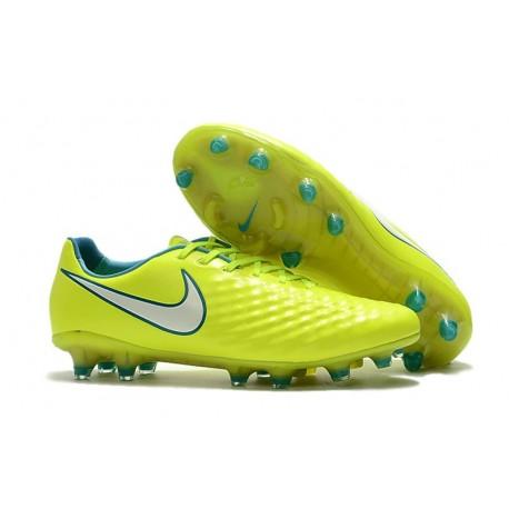 Caso Atticus eficientemente  New Nike Magista Opus II FG Football Boots - Low Price - Volt White