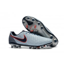 New Nike Magista Opus II FG Football Boots - Low Price - Grey Black Red