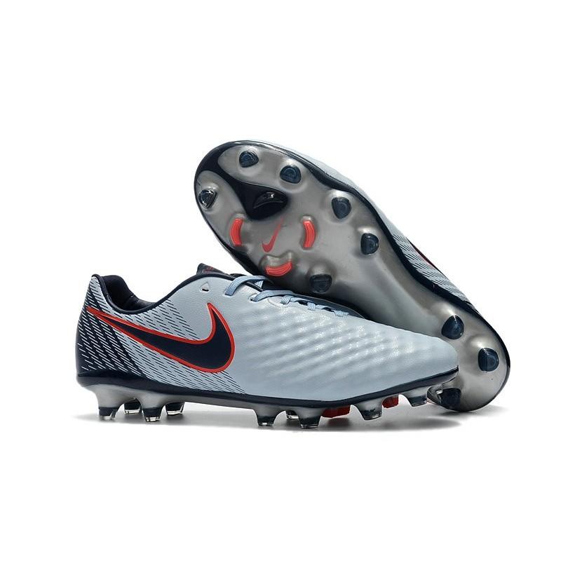 Maquinilla de afeitar especificar Desenmarañar  New Nike Magista Opus II FG Football Boots - Low Price - Grey Black Red
