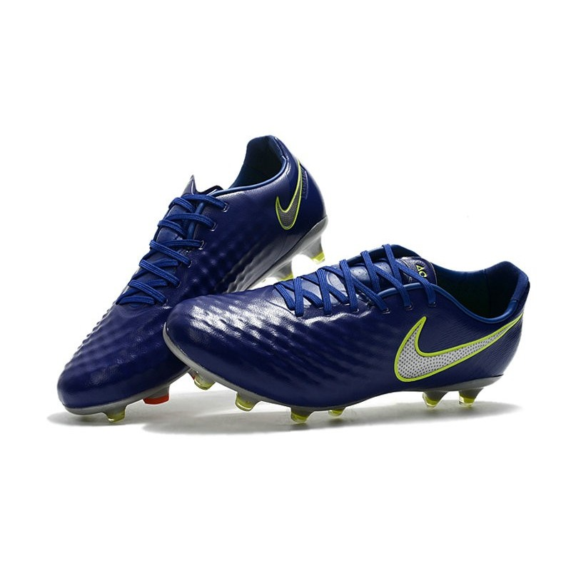 New Nike Magista Opus II FG Football Boots - Low Price - Blue Volt Silver  Maximize. Previous. Next