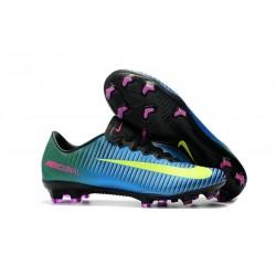 Nike Mercurial Vapor XI FG ACC 2017 Soccer Shoes - Blue Volt Pink