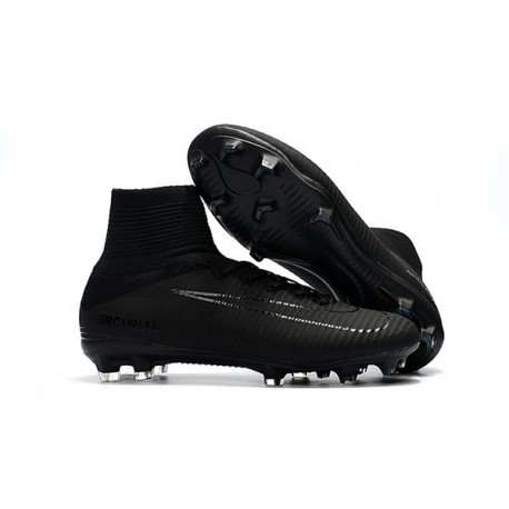 Nike Mercurial Superfly V FG 2017 New Football Boots Black