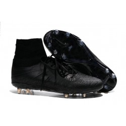 Nike Hypervenom 2 Phantom Men's Nike Football Cleats all Black
