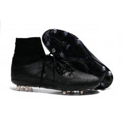 Nike Hypervenom 2 Phantom Men's Nike Football Cleats all Black