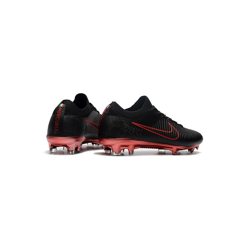 ac939ab9a7a1 New Nike Soccer Shoes - Mercurial Vapor Flyknit Ultra FG Black Red  Maximize. Previous. Next