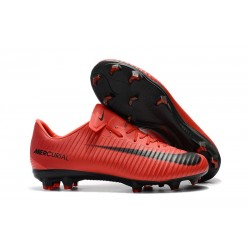 Nike Mercurial Vapor XI FG ACC 2017 Soccer Shoes - Red Black