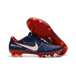Nike Mercurial Vapor XI FG ACC 2017 Soccer Shoes - Blue Red