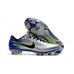 Nike Mercurial Vapor XI FG ACC 2017 Soccer Shoes - Silvery Blue