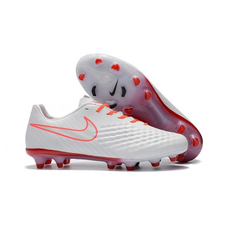 New Nike Magista Opus II Men's Firm-Ground Soccer Cleats White Orange