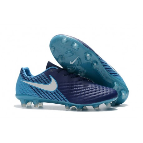New Nike Magista Opus II Men's Firm-Ground Soccer Cleats Blue White