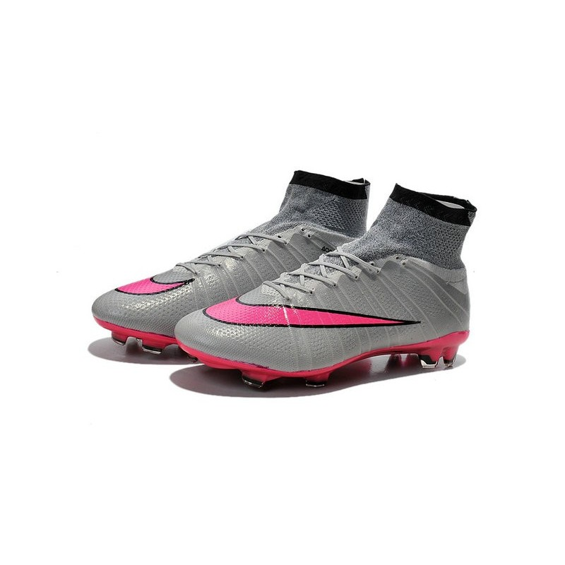 new nike mercurial superfly iv fg soccer boots wolf grey. Black Bedroom Furniture Sets. Home Design Ideas