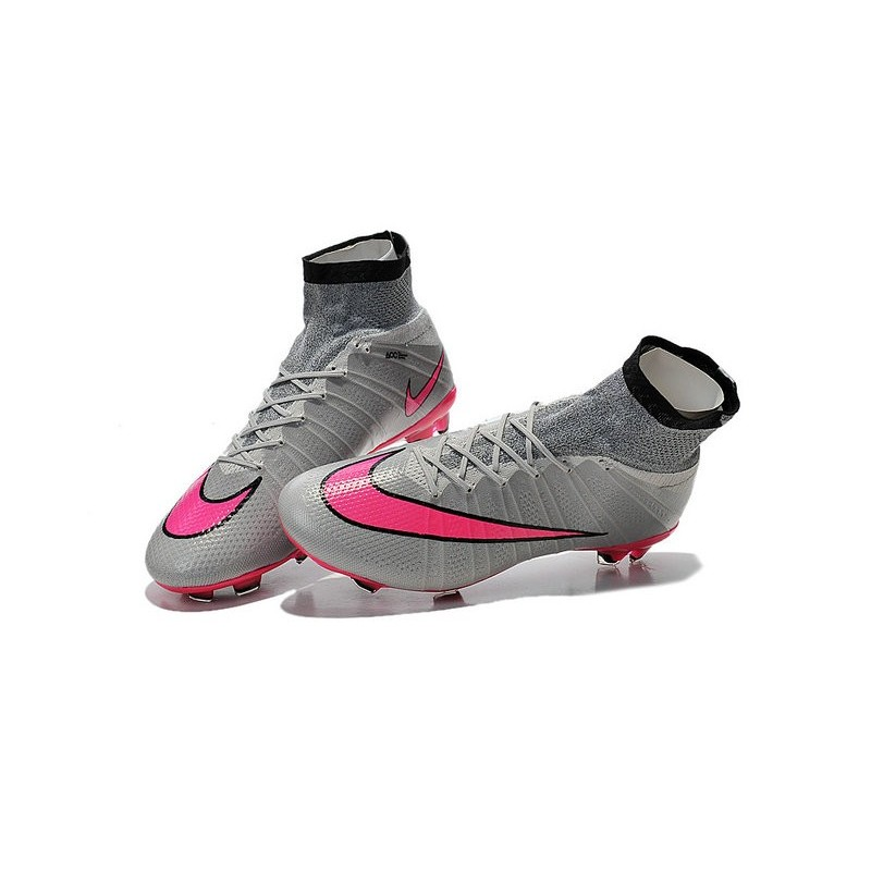 Soccer Shoes Nike Black In Pink
