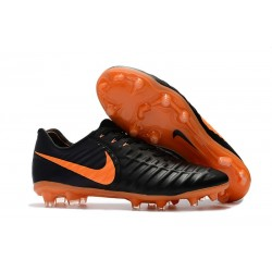 Nike Tiempo Legend VII FG FG Soccer Shoes - Low Price Black Laser Orange