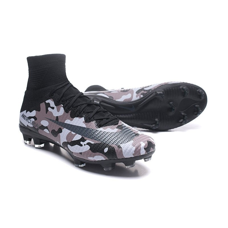 476d79dc147a Nike Mercurial Superfly V FG New Football Boots Camouflage Grey Black  Maximize. Previous. Next
