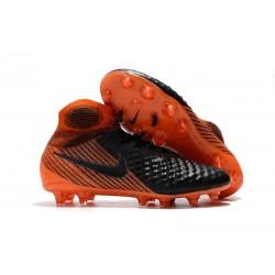 Nike Magista Obra 2 FG Firm Ground Football Boots Black White Hyper Crimson Bright Crimson
