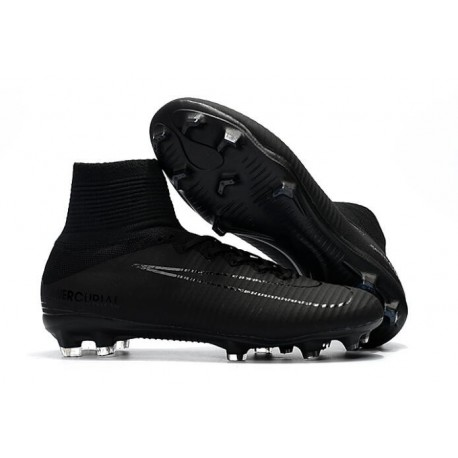 Nike New Shoes Mercurial Superfly 4 FG Soccer Cleats Cyan