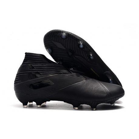 Adidas Nemeziz 19+ FG Soccer Cleats Core Black