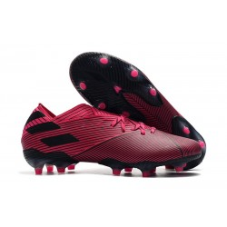 adidas Nemeziz 19.1 FG Firm Ground Boot Shock Pink Black