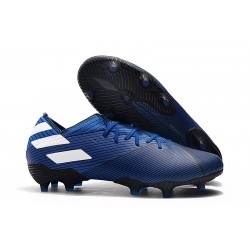 adidas Nemeziz 19.1 FG Firm Ground Boot Blue White