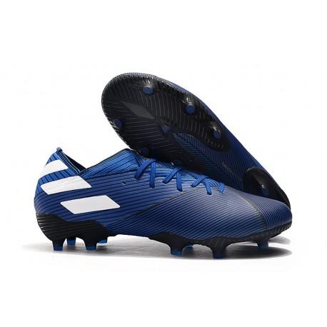 adidas Nemeziz 19.1 FG Firm Ground Boot Blue White